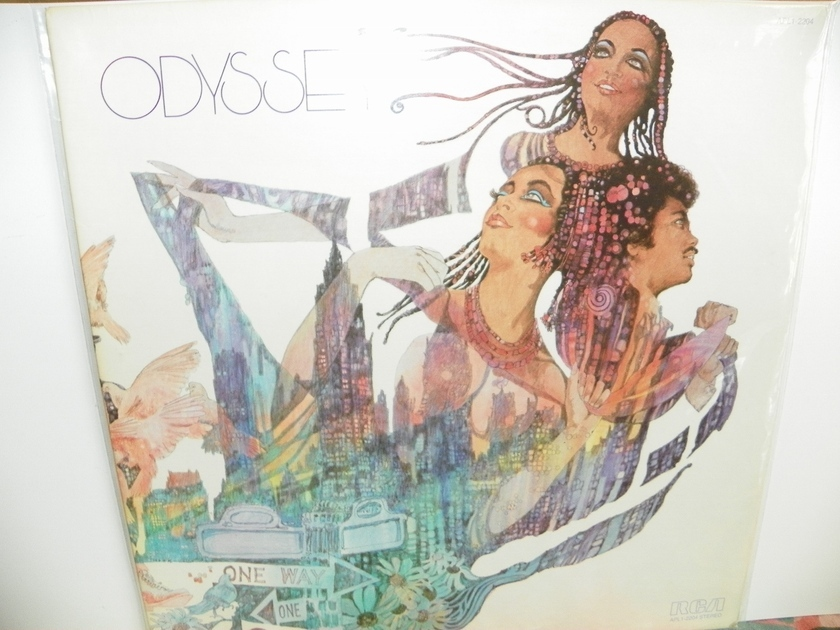 ODYSSEY - SELF TITLED NM + Very Rare LP