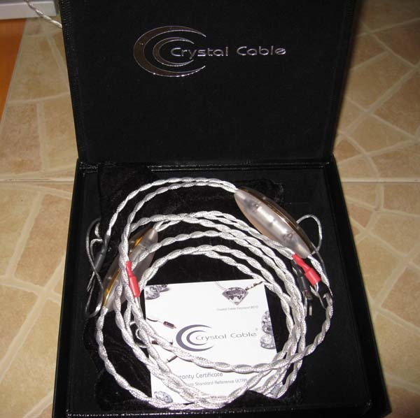 CRYSTAL CABLE DREAMLINE 2.5m DON'T DREAM ABOUT IT, OWN IT! UNBEATABLE SOUND and $12,000 OFF!