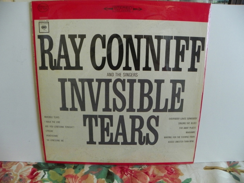 RAY CONNIFF AND THE SINGERS - INVISIBLE TEARS Pressing is NM