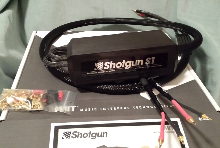 MIT Shotgun S1 BiWire 10 ft pair New-Old-Stock.  Lifetime wrnty.